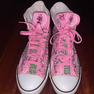 Converse Chuck Taylor All Star Pink Hightops